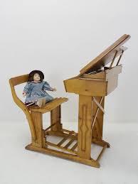 Wohnzimmerm El Um 1900 Schreibtisch Schulbank Schreibpult Antik Um 1900 Buche 90x67x95 Cm