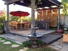 Deck Ideas For Small Backyards Patios Con Deck Small Backyard Decks Backyard Deck Designs And