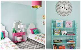vibrant bedroom for twin girls bright bold and beautiful