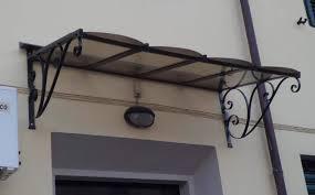 tettoia in ferro pensilina tettoia inox ferro battuto a prato kijiji