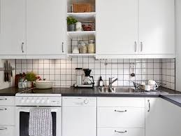 Pictures Of Kitchens With White Cabinets And Black Countertops Kitchen Subway Tiles Are Back In Style U2013 50 Inspiring Designs