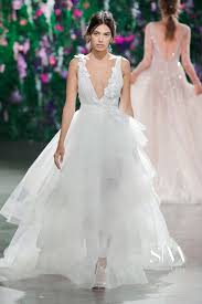 wedding dress new york lahav fall 2018 bridal collection new york fashion week