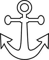 anchor clipart drawn pencil and in color anchor clipart drawn