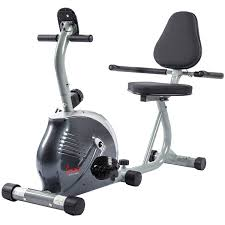 Comfortable Exercise Bike Recumbent Bike W Lcd Monitor And Pulse Rate Monitoring By Sunny
