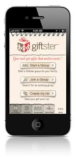 wish list app giftster wishlist maker now available in the apple app store in