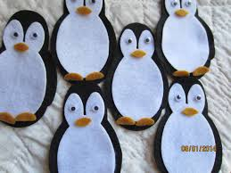 felt penguin kit diy crafts decorations winter