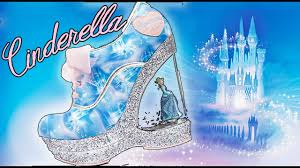 cinderella light up shoes size 7 8 unboxing cinderella shoes from irregular choice youtube