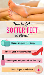get soft feet without pedicure at home basic tips for soft feet