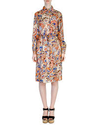 vintage 1970s colorful dragon print shirt dress from amarcord