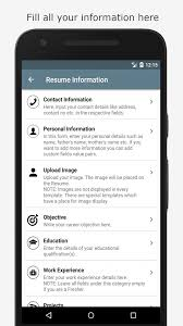 resume maker android apps on google play