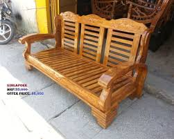 Teak Wood Sofa Find Teak Wood Sofa At Clickindia - Teak wood sofa set designs