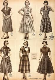 snapped garters 1952 fashions from sears