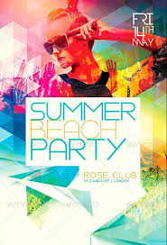 summer flyer template summer flyer template psd clubs u0026 parties