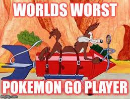 Wile E Coyote Meme - wile e coyote pokemon go imgflip