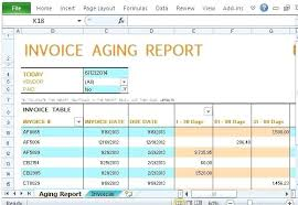 aging report template invoice aging report ageing debtors invoice aging report query in
