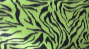 decoration ideas artistic red and green zebra fabric for home