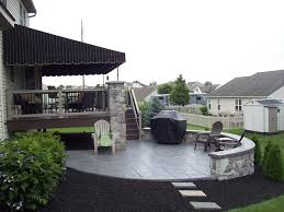 Building Stone Patio by Lovely Stone Patio U0026 Deck Comgo Eagle Building Solutions