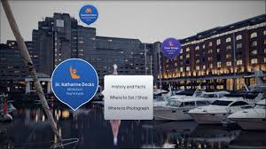 app guides tourists around london with augmented reality