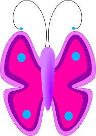 free pink butterfly clipart free clip free clip