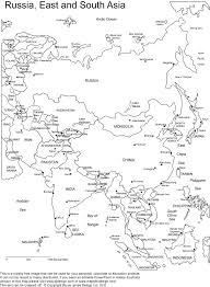 South Asia Political Map by Printable Outline Maps Of Asia For Kids Asia Outline Printable
