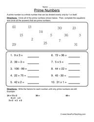prime numbers and factors worksheet bunch ideas of prime numbers worksheets 4th grade also free