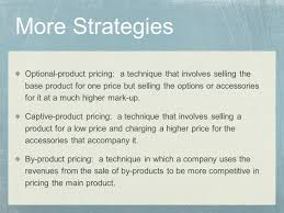 Product Pricing Pricing Strategies Chapter Ppt Video Online Download