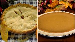 thanksgiving dessert battle apple pie or pumpkin pie poll