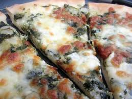 cuisine epinard recette de pizza mozzarella epinard