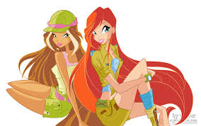 Bloom The Winx Club Truth Images Flora And Bloom Hd Wallpaper And
