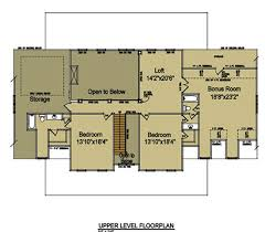 open floor plan farmhouse 3 5 bedroom home plan with porches southern house plan