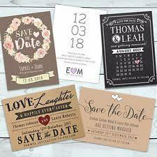 Wedding Save The Dates Wedding Save The Dates Personalised Ebay