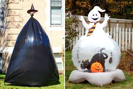 awesome outdoor halloween decorating ideas sit a spell show