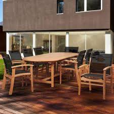 Sling Patio Chairs Sling Patio Furniture Teak The Home Depot