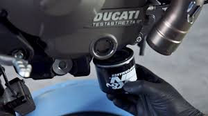 ducati monster 821 oil change youtube