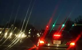 Halos Around Lights What Do You See When You Look At A Street Lamp Car Headlight Or