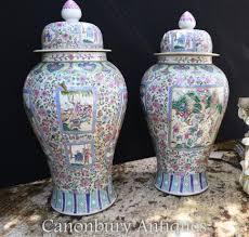 Large Chinese Vases Chinese Pottery And Porcelain Cantonese Nanking Canonbury