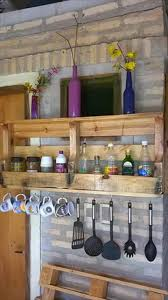 pallet kitchen shelves cool home design classy simple on pallet