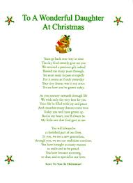 rhyming quotes about christmas christmas poem for daughter u2013 merry christmas and happy new year 2018