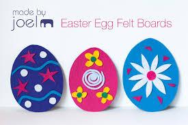 felt easter eggs made by joel easter egg felt boards