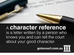 character references act go to court lawyers act