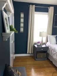Navy Bedroom Take The Tour Navy Bedroom Makeover