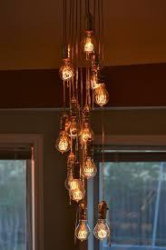 Chandelier With Edison Bulbs Best 25 Edison Bulb Chandelier Ideas On Pinterest Edison Bulbs