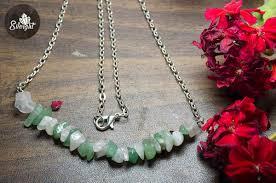 quartz gemstone necklace images Jade rose quartz gemstones necklace jpg