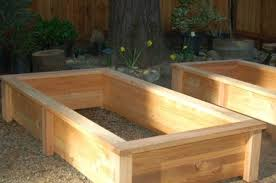 Backyard Planter Box Ideas Plush Design Ideas Cedar Garden Box Exquisite The Planter Box