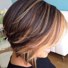 highlights in very short hair top best short glorious black brown hairstyles with blonde highlights