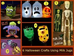 Halloween Decorations Using Milk Jugs - 6 halloween crafts using milk jugs on the scene with mrs kathy