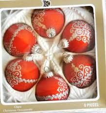 krebs ornaments centerpiece ideas