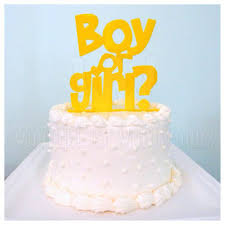gender reveal cake toppers shop reveal party on wanelo