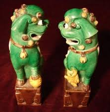 turquoise foo dogs for sale c 1900 pair of foo dogs for sale antiques classifieds