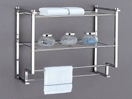 Metal Bathroom Shelves Stainless Steel Pot Shelf Bathroom Shelving